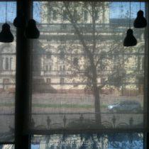 Штора для панорамного  окна
